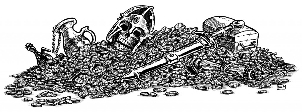 Small Treasure Hoard by William McAusland (Outland Arts)